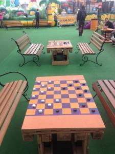 Великі шашки в Даринку