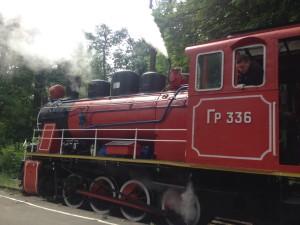 Паровоз Київської дитячої залізниці