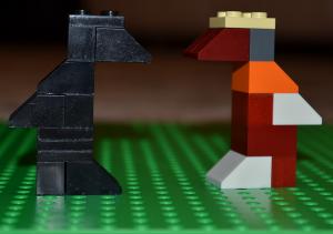 Чорна - пречорна ворона та її веселковий друг