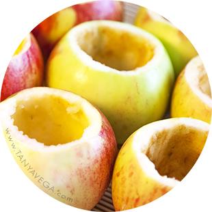 Чашка з яблука