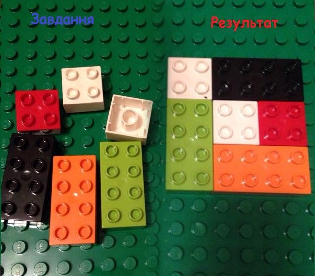 Лего математика. Квадрат