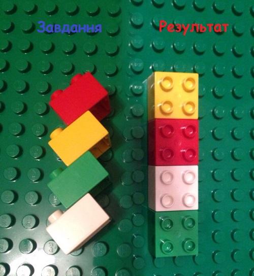 Лего-математика. Прямокутник.