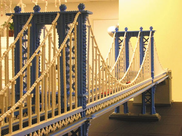 Міст з лего